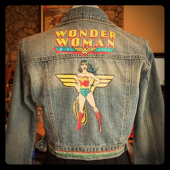 75c44f91f7 Dolce & Gabbana Jackets & Blazers - Dolce & Gabbana Wonder Woman Jean Jacket  ...
